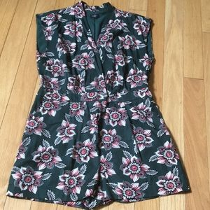 LOFT Romper with Pockets